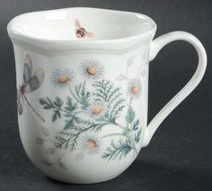 Butterfly Meadow Blue Dinnerware by Lenox