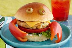 Who could be crabby with a sandwich like this on their plate? Bonus: As cute as they are, these crab burgers are also delish!
