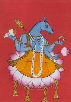 Vishnu as Hayagriva