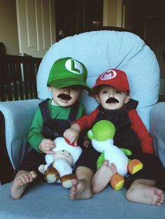 Ideas for Halloween Costumes from the Twin Z Pillow! www.twinznursingpillow.com