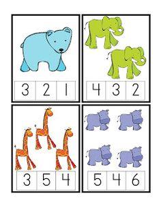 Preschool Printables: Zoo