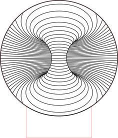 Double hole 3d illusion Led lamp vector file Geometric Drawing, Geometric Designs, Geometric Shapes, Illusion Drawings, Illusion Art, Hippe Tattoos, Sacred Geometry Art, Math Art, Technical Drawing