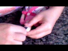 Oficinas Virtual Tildas - Passo á passo cabelo Tilda Flowergarden ( video amostra) - YouTube