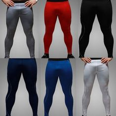 New Mens Long Compression Pants Speed Dry Crossfit Fitness Men Workout Pants Anti-bacteria Sweatpants Leggings Trousers Fashionable Patterns Pants