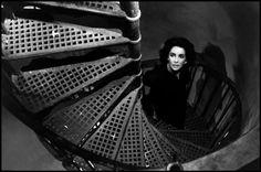 Liz taylor by Burt Glinn