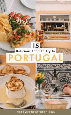 Portugal Food Guide: 15 Delicious Traditional Portuguese Food To Try #Europe #Portugal #FoodGuide