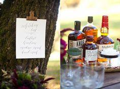 For the Groom | Whiskey Bar