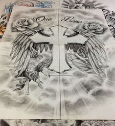 We are drawing your Tattoo ! From a simple idea, we create your drawing from A to Z Unique design * unlimited changes * everywhere in the world Jesus Tattoo Design, Sketch Tattoo Design, Tattoo Sketches, Tattoo Drawings, Cross Tattoo Designs, Tattoo Designs Men, Mangas Tattoo, Heaven Tattoos, Christ Tattoo