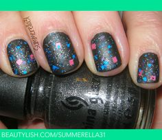 Mattified Glitter