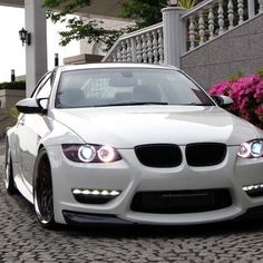 White BMW- A girl can dream can't she!