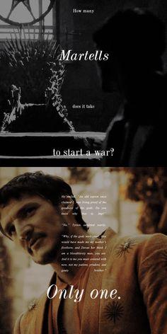 Oberyn Martell, Game of Thrones Season 4