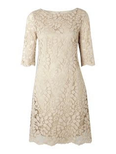 Womens Pied a Terre Lace shift dress