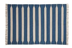 Dreamy Blue And White Dhurrie Nautical Rugs Newport House Indian