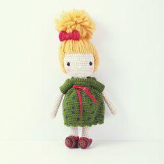 Crochet doll Summer forest girl by UlalaCrochet on Etsy