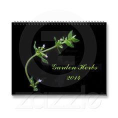 Garden Herbs 2014 Wall Calendar