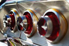 1963 Chevrolet Impala tail light detail