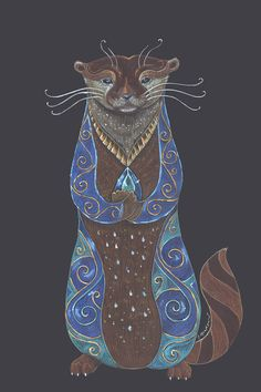 Fifth in the Totem series, inspired by the beautiful Otter.