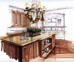 Markers are a great media to use when sketching a timber finish. You can use…