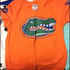 Victoria's Secret PINK Florida Gators shirt PINK Florida Gators orange shirt. NWOT. Never worn. PINK Victoria's Secret Tops