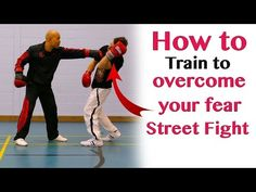 How to train to overcome your fear in fighting  - wing chun - YouTube
