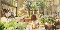 Urban Loneliness Could Be Solved By This Radical Old People's Home