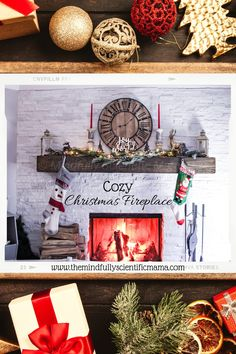 DIY projects, last minute gift ideas, inspiration for new holiday traditions, food allergy safety tips, personal stories, crafts, activities, and more! All on my Holiday 2020 Christmas Guide! Christmas Fireplace, Cozy Christmas, Christmas Ideas, Christmas Decorations, Holiday Gifts, Christmas Gifts, Holiday Decor, Holiday Traditions, Last Minute Gifts