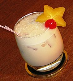 My Favorite!! Jamaican Quaalude: 1 oz. Kahlua, 1 oz. Malibu Coconut Rum, 1 oz. Baileys Irish Cream, .5 oz. Amaretto, .5 oz. Frangelico, 1 oz. Half & Half. Shake in an ice-filled shaker. Pour into a Rocks glass. Get ready to become comfortably numb.