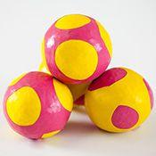 DIY Juggling balls from balloons