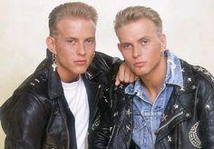 Matt and Luke Goss from Bros