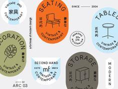 Seals & Badges designed by Javier Garcia. Connect with them on Dribbble; Badge Design, Label Design, Icon Design, Brand Identity Design, Branding Design, Logo Design, Design Design, Typo Logo, Logo Branding