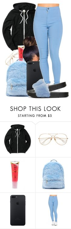 """""""Since it's been a minute🙄😩"""" by honey-cocaine1972 ❤ liked on Polyvore featuring Barry M, Forever 21 and Baja East"""