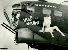 """B-17 """"LITLE PATCHES"""""""
