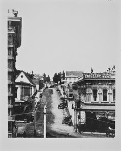 Temple Street Cable Railway on Temple St. circa 1888