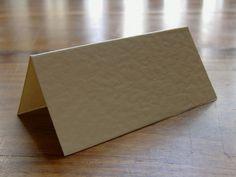 Place cards - Ebay