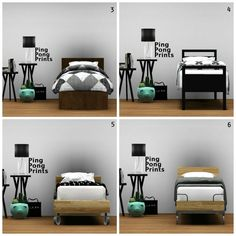 The Sims 3 CC Hunt, whitedotsims:   MY FAVOURITE SINGLE BEDS  1....