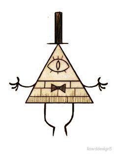 'gravity falls' Sticker by Tattoo Bills, Gavity Falls, Autumn Tattoo, Badass Drawings, Gravity Falls Bill Cipher, Illuminati, Learn To Draw, Tattoo Inspiration, Illusions