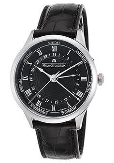 Maurice Lacroix Masterpiece Cinq Aiguilles Automatic // // New Maurice Lacroix, Watches For Men, Men's Watches, Boutique, Watch Sale, Automatic Watch, Omega Watch, Mens Fashion, Luxury Fashion
