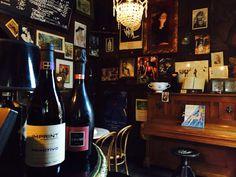It looks good, Petit Café in Monaco. On show, we've chosen #Spumante Rosa and #Imprint #Primitivo. Ever tried them? Read more on our web site.