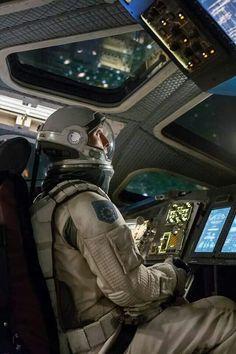 Interstellar (2014) by Christopher Nolan with Matthew McConaughey, Anne Hathaway, Jessica Chastain...