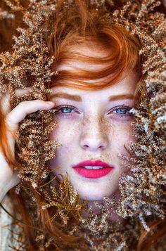 Best of Web Essas imagens de mulheres ruivas revelam a mutação genética mais linda do mundo
