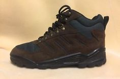 Pre-Owned Northwest Territory size 8.5 Mens Hiking Low Boots Shoes Brown Green  | eBay