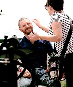 Tom Hardy gif adorable Cannes May 14th 2015