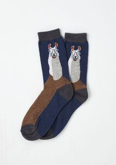 Word to Your Llama Socks $9.99