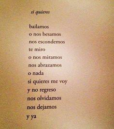 Sí quieres ♥