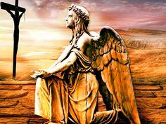 Free Image on Pixabay - Cross, Angel, Faith, God