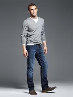MAC Denim F/W 2012 - Click image to find more Men's Fashion Pinterest pins