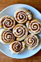 Pizza Dough Cinnamon Rolls Recipe from justataste.com