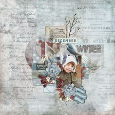 Page by Atusia using Winter Frost by Valentina's Creations