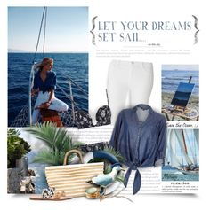 """""""LET YOUR DREAMS SET SAIL..."""" by thewondersoffashion ❤ liked on Polyvore featuring Bellagio, Dorothy Perkins, Zimmermann, River Island, Ermanno Scervino and Soludos"""