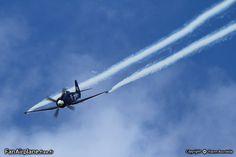 Jacquard Christophe's F-AZXJ - Hawker Sea Fury FB MK11. Ferte Alais - LFFQ, 11.06.2011.
